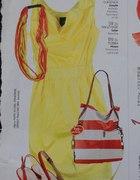 Sukienka żółta Simple...