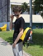 REALIZACJA hipsterski dwu wnękowy plecak...