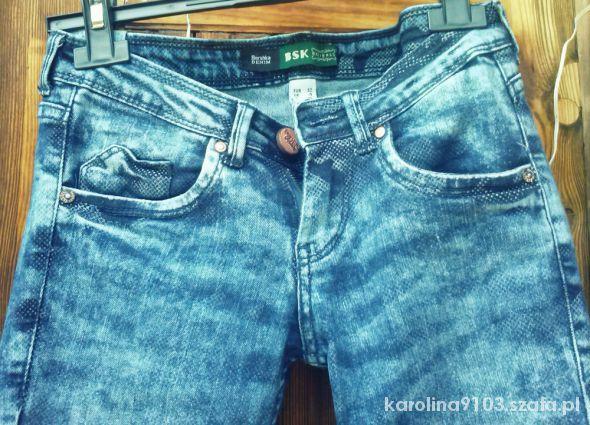 Spodnie marmurki bershka
