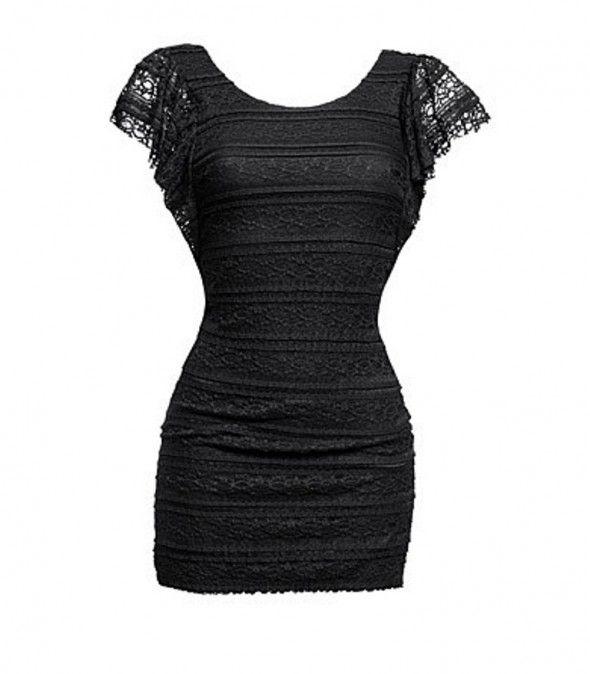 Suknie i sukienki Koronkowa Sukienka H&M Anna Mucha