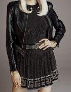 Versace HandM czarna bluzka...