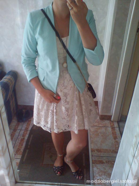 Mój styl mint and lace