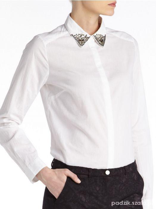 Ubrania Koszula z ozdobnym kołnieżykiem