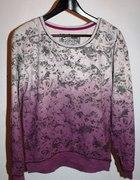 Kwiatowa i kobieca cieniowana bluza next