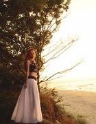 Kobieca kreacja na plażę