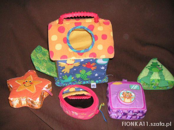 Zabawki bezpieczny domek z niespodziankami