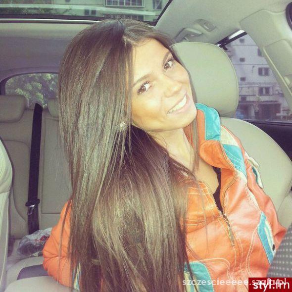 piękne włosy piękna dziewczyna