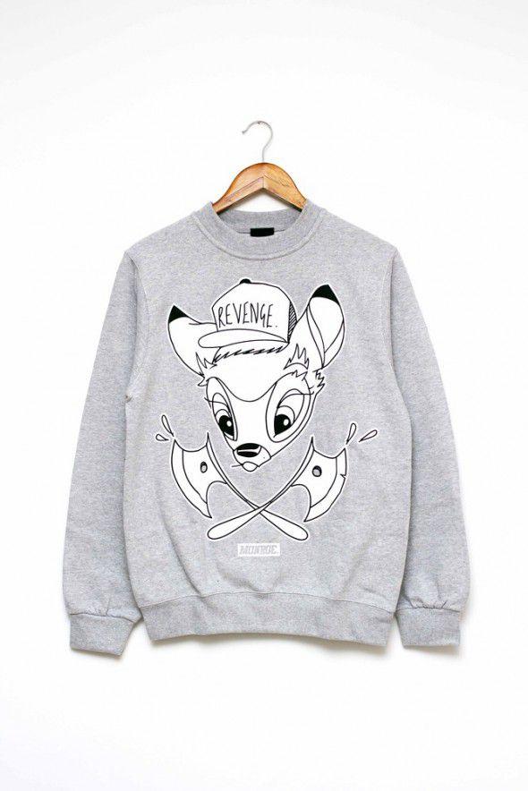 monroe apparel bluza bambi