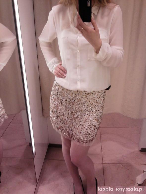 Eleganckie Cekinowa sukienka