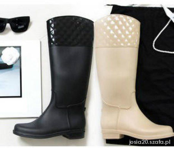 Kalosze niezwykłe rain boots kalosze water shoes
