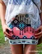 BERSHKA spódnica aztec S must have