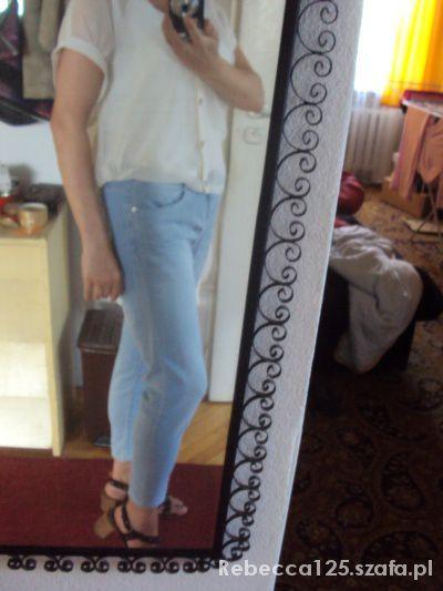 Mój styl Biała mgiełka i jeansy
