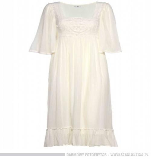 Ubrania Biała sukienka F&F