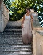 sukienka maxi ombre