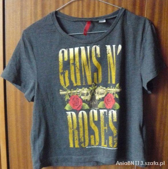 Ubrania Poszukuję Luźnej koszulki w guns and roses
