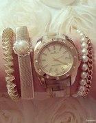Anne Klein mój ulubiony zegarek kość słoniowa