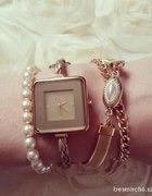 Zegarek Dolce&Gabbana złoty z rzemykiem