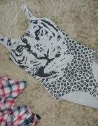 body H&M tygrys xs s