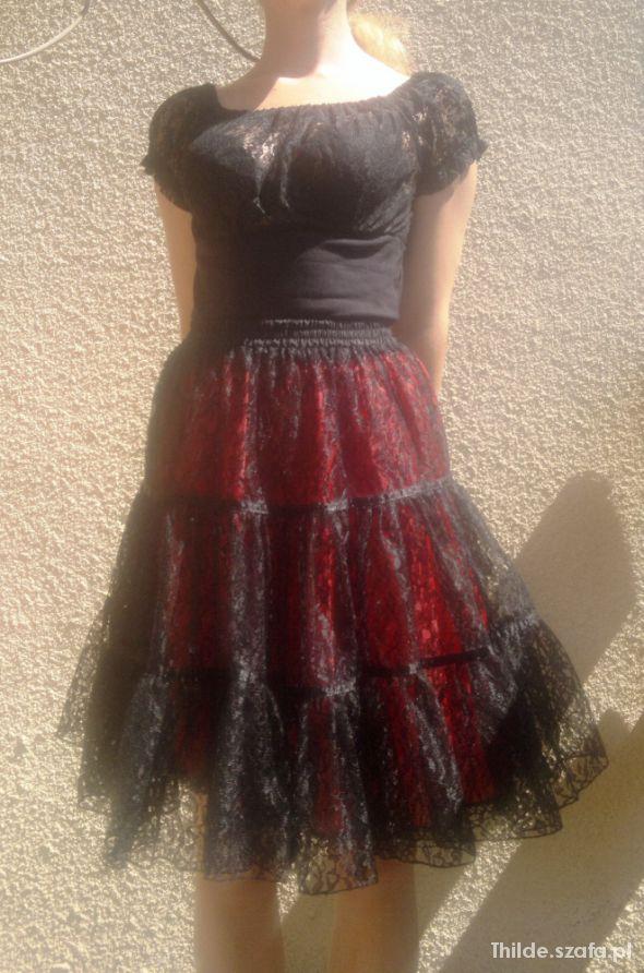 Spódnice Koronkowa tutu z wymiennymi halkami