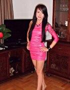 Fuksjowa sukienka na impreze