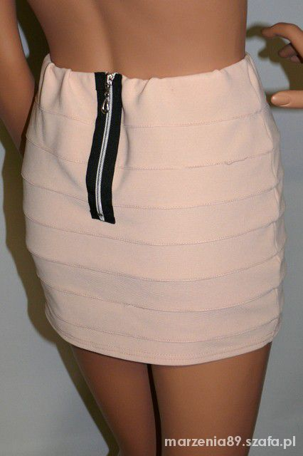 Spódnice bandażowa zip