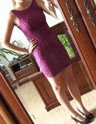 Fiołkowa sukienka