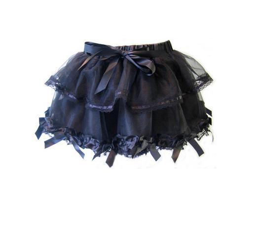 Spódnice czarna tutu Poizen Industries
