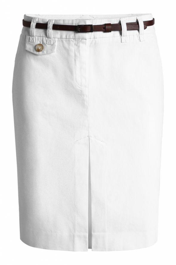 spódnica biała ESPRIT...