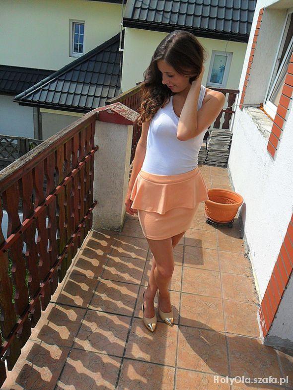 Mój styl brzoskwinka