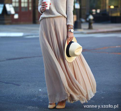Eleganckie Długa spódnica