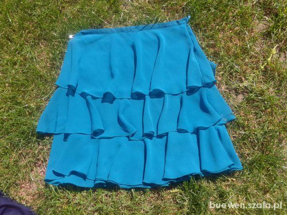 Spódnice turkusowa spódniczka
