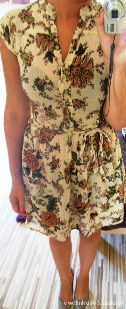 Eleganckie sukienka floral