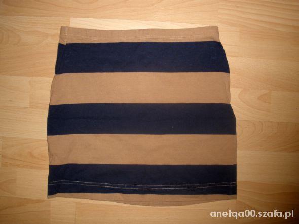Spódnice Bandażowa w paski