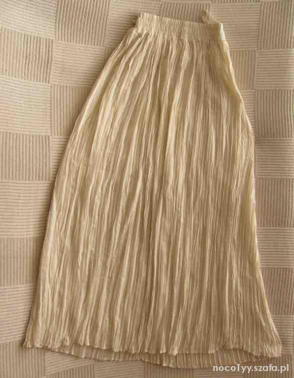 Spódnice plisowana maxi