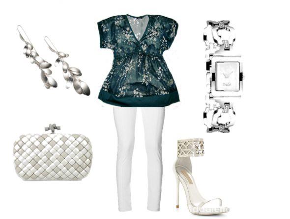 Eleganckie letnia elegancja