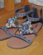 Kolorowe sandały