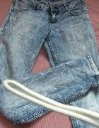 jeansy cropp...
