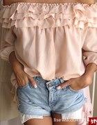 bluzka na ramiona