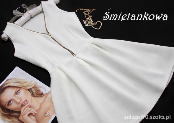 Suknie i sukienki sukienka zip