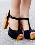Sandałki lity 39