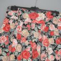 Spódnica HM garden floral wysoki stan M 38 kwiaty