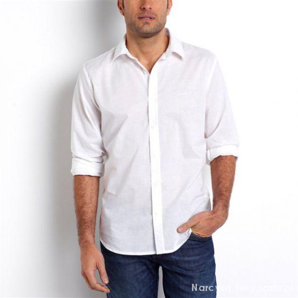 Kupię koszule męskie casual białe