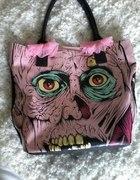 różowa torba Iron Fist