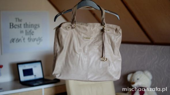 Shopper Bag Stradivarius nude
