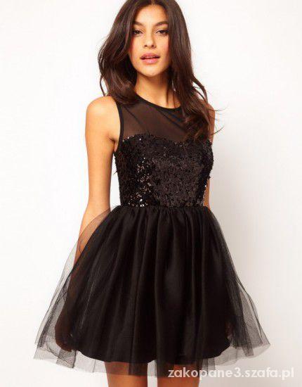 Sukienka czarna podobna