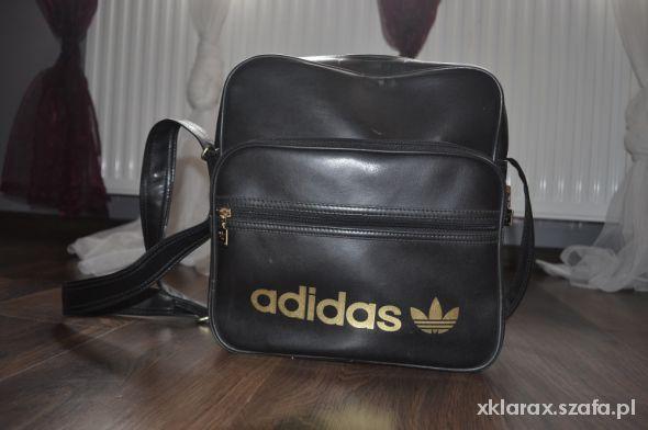 52d6082f7a111 torba listonoszka adidas czarna a4 w Torebki na co dzień - Szafa.pl