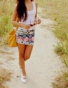 Spódnica aztec bershka blogerska
