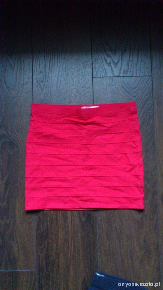 Spódnice spódnica banażowa xs 34 czerwona