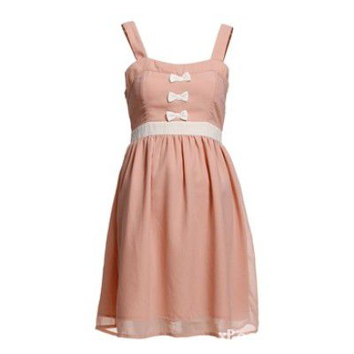 Vero moda jannu mini bow dress...