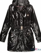 MOHITO połyskliwy płaszcz jak lata 90te...